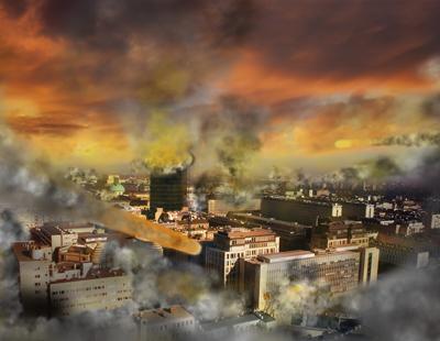 Apocalypse meteor storm