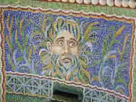 Mosaic at Getty Villa