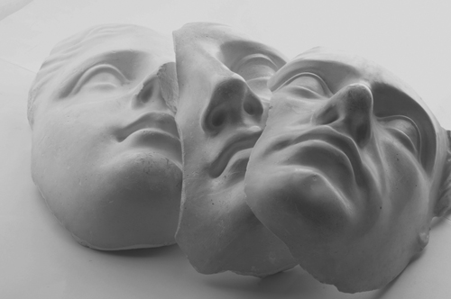 Gypsum face molds