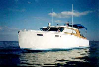 Steelcraft cabin cruiser